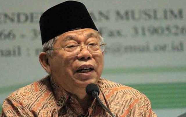 KH Ma'ruf Amin: Siapapun yang Menang Gubernur Nanti, Umat Islam Harus Menerima