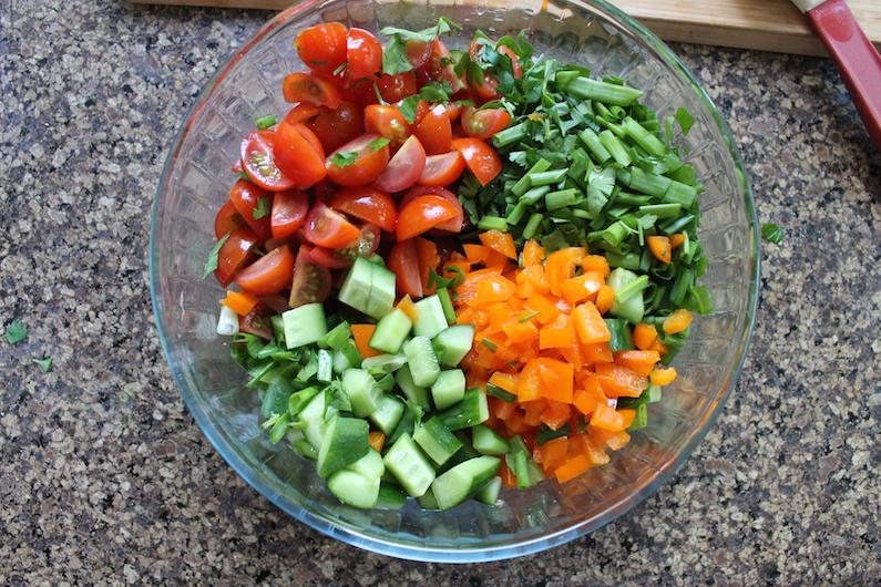 Food Lust People Love: Black-eyed Pea Salad - Saladu Ñebbe # ...