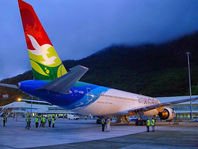 Mason's Travel: Airline Updates: Air Seychelles