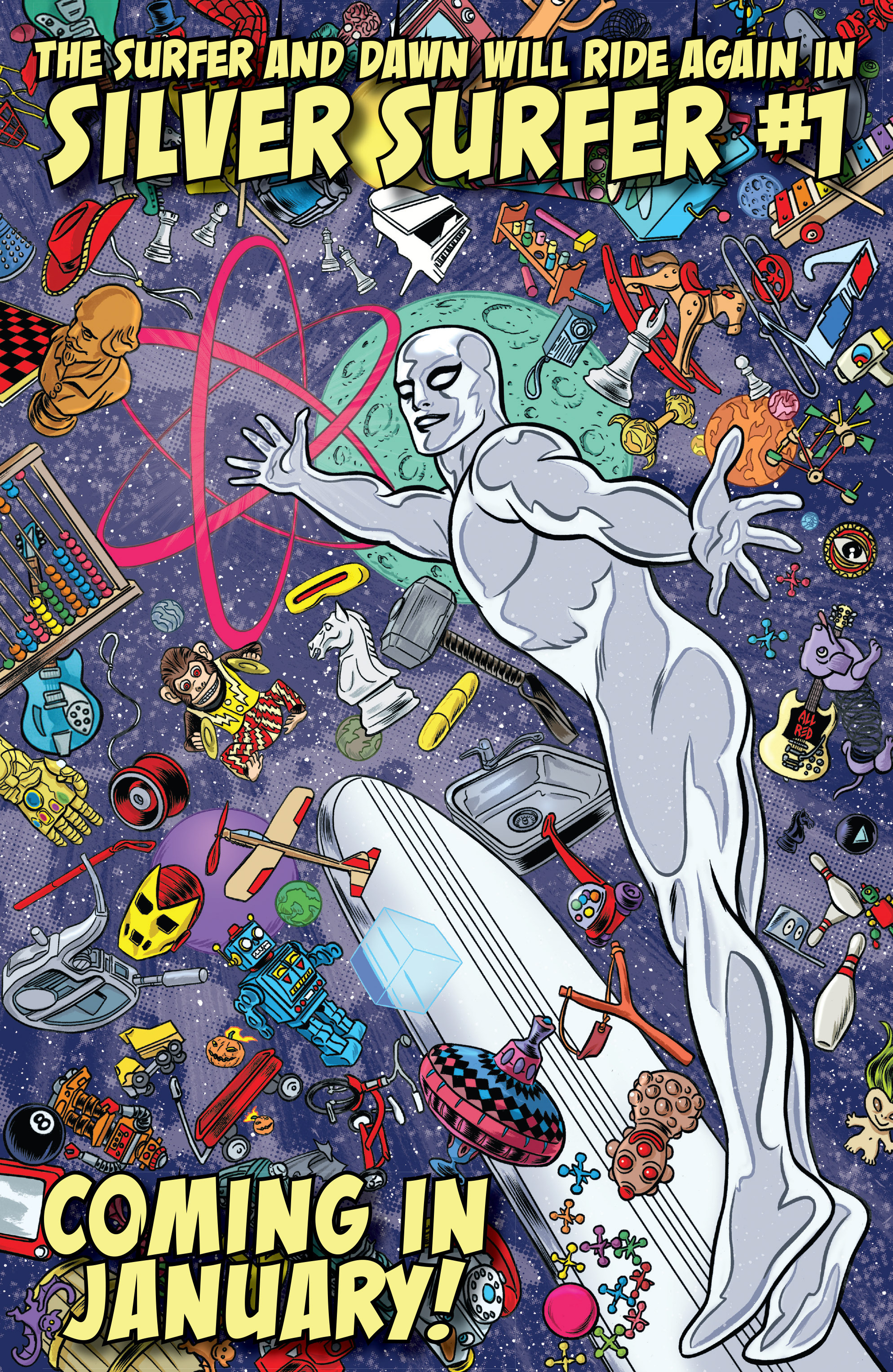 Read online Silver Surfer (2014) comic -  Issue #15 - 22