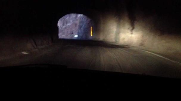 Encuentran persona calcinada en un coche, Tenerife túnel Teno
