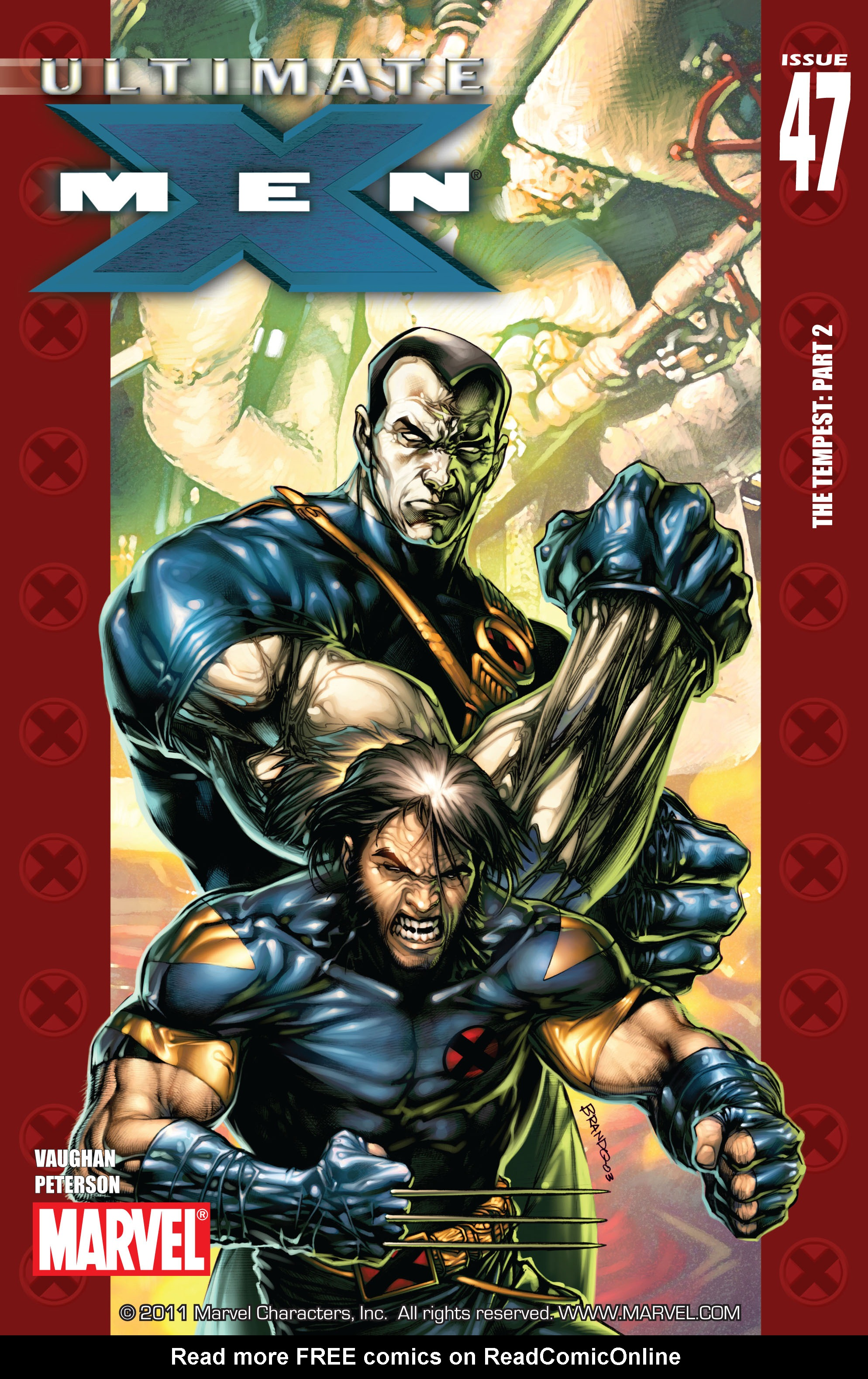 Read online Ultimate X-Men comic -  Issue #47 - 1
