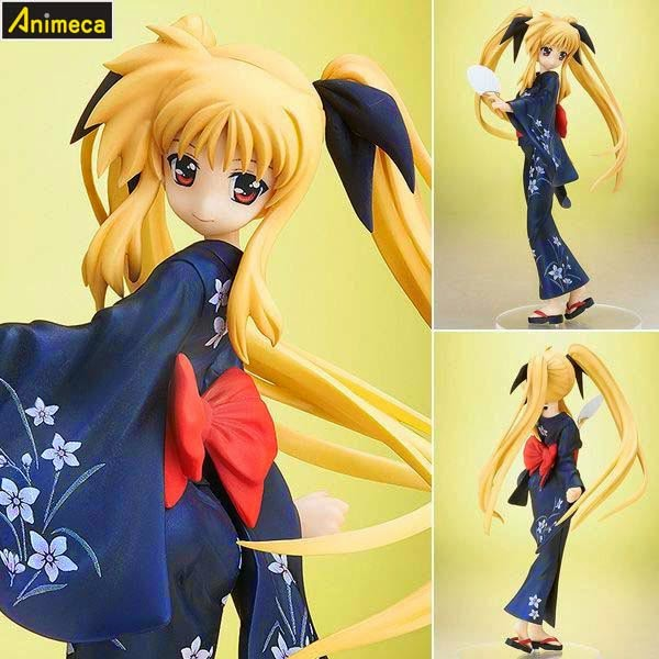 FATE TESTAROSSA Yukata Ver. FIGURE MAGICAL GIRL LYRICAL NANOHA The MOVIE 2nd A's FREEing