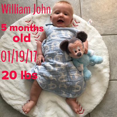 Disney Baby: Will is Five Months Old