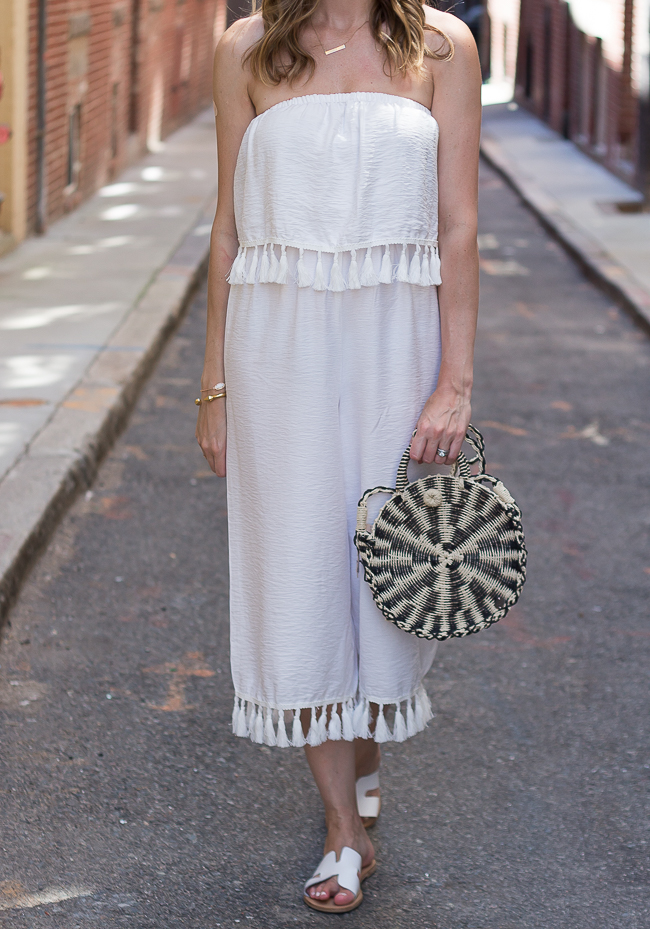Jumpsuit with Tassels #jumpsuit