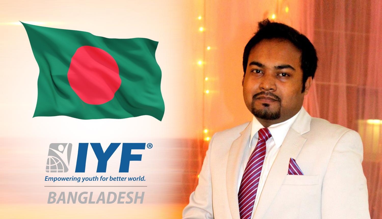 Jisan Mahmud, IYF Representative in Bangladesh