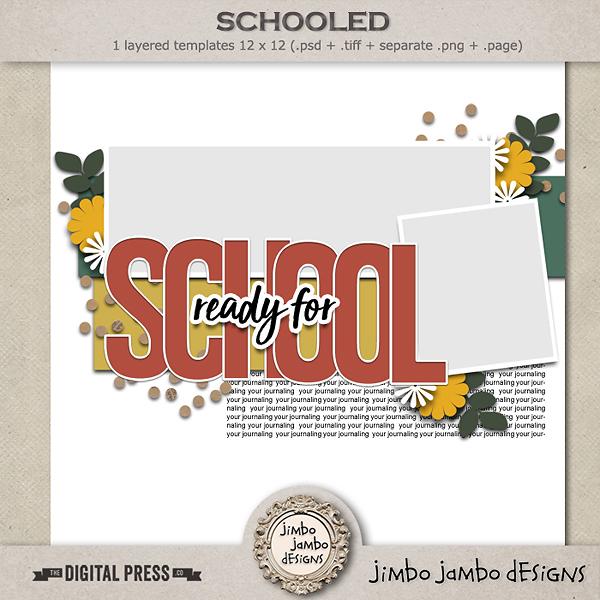 Schooled - Jimbo Jambo Designs