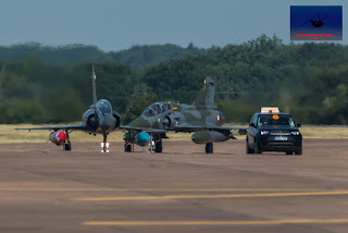 French Airforce Mirage 2000D Couteau Delta display team airshow