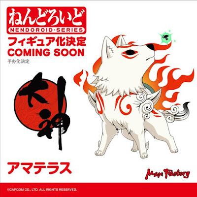 Okami Nendoroid Amaterasu