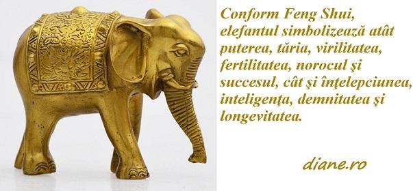 Elefantul, simbol in Feng Shui