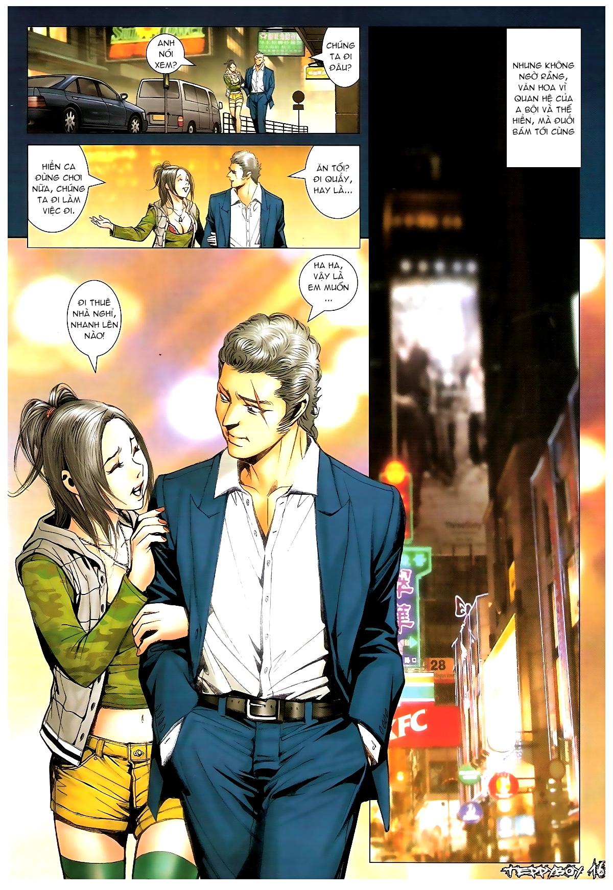 Người Trong Giang Hồ - Chapter 1372: Làm dữ - Pic 14