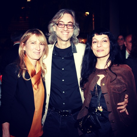 En la fiesta de la revista Qué Leer, con Joana Bonet