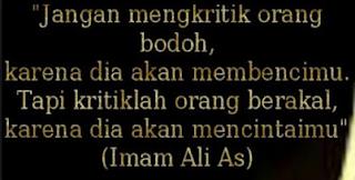 Renungan Ali Bin Abi Tholib