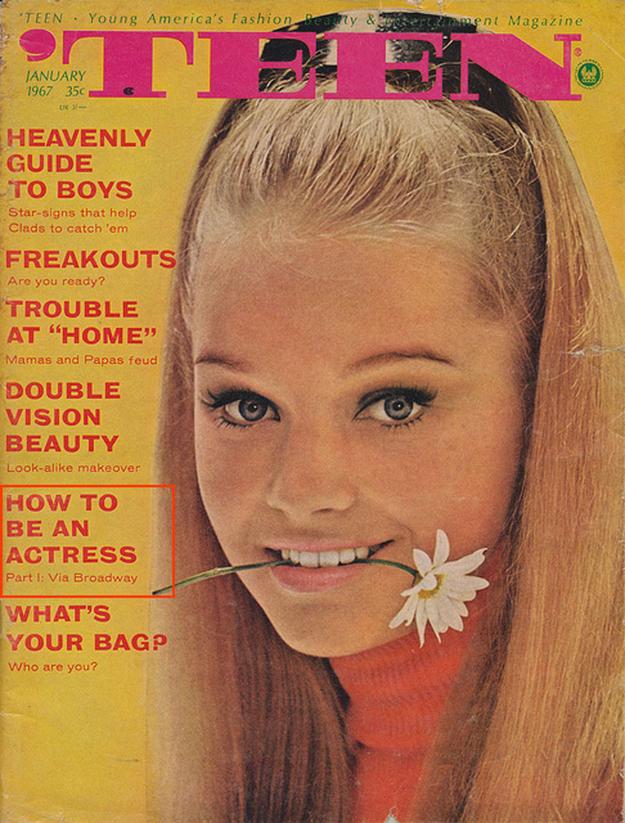 "Extraordinary Vintage ""Teen Magazine"" Covers"