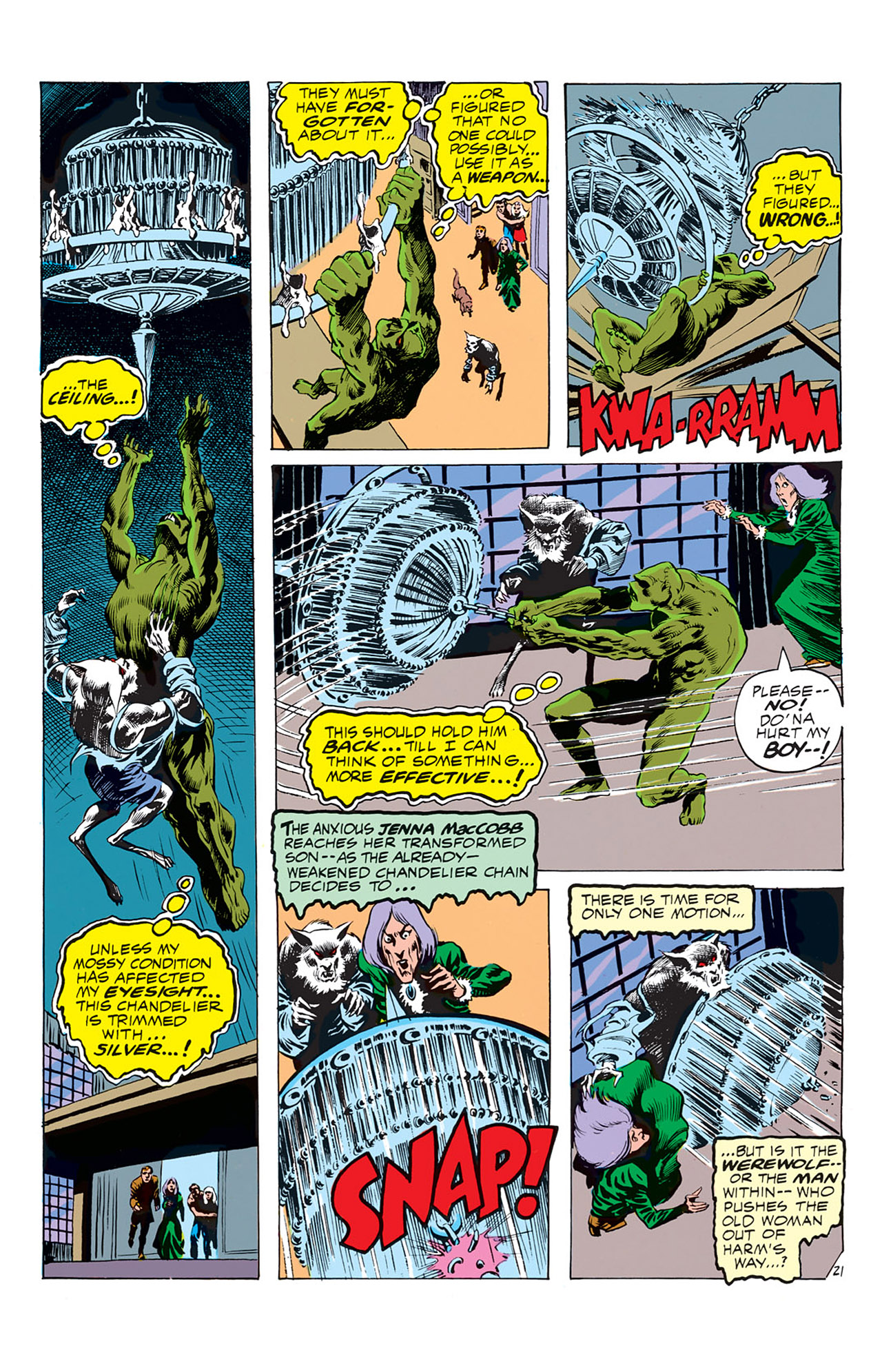 Swamp Thing (1972) Issue #4 #4 - English 22