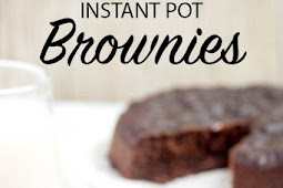 INSTANT POT BROWNIES EASILY MADE FROM SCRATCH