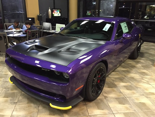 2016 Dodge Challenger SRT Hellcat with only 7 miles - Supercharged 707 HP