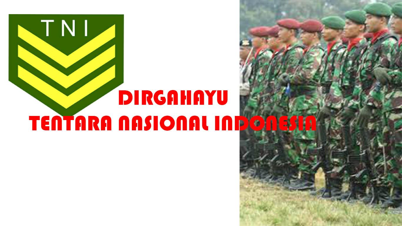 Ucapan Selamat HUT TNI Ke 73 Tahun 2018 Kata Kata Dirgahayu Tentara