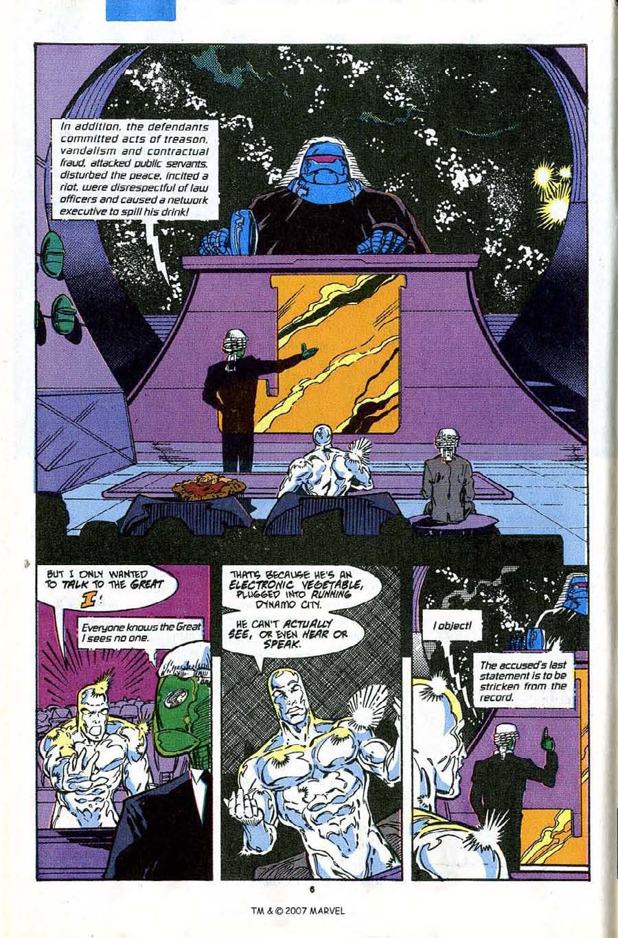 Read online Silver Surfer (1987) comic -  Issue #43 - 8
