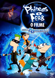 Phineas e Ferb: O Filme - Através da 2ª Dimensão - WEBRip Dual Áudio