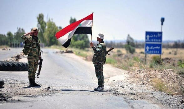 الجيش السوري يصل حدود الأردن ويسيطر على 6 كم