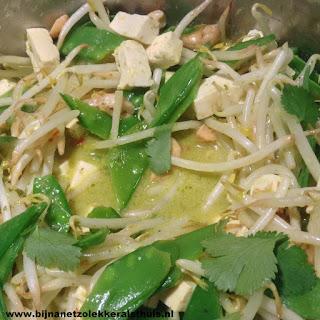 groene currypasta zelf maken
