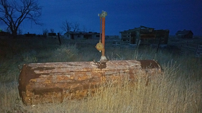 Abandoned Tank in Model, Colorado ghost town