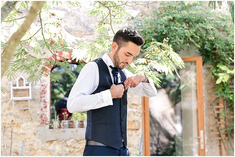 getting ready groom paris wedding
