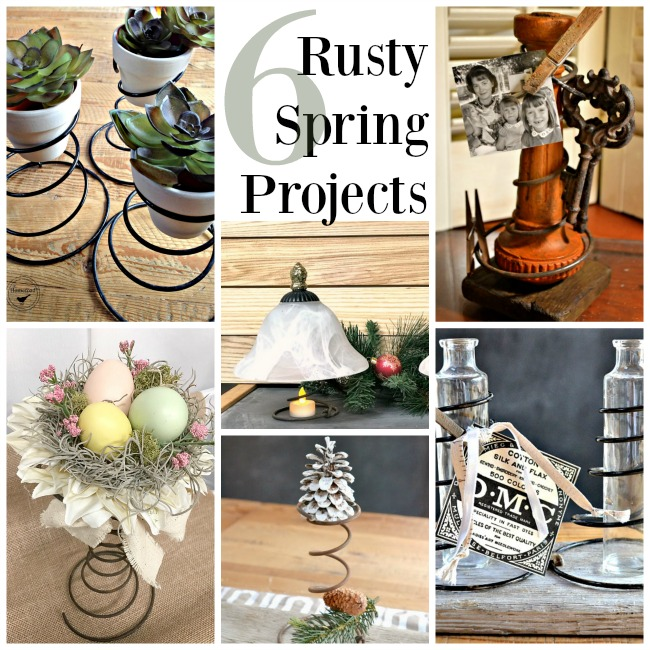 Repurposed Projects Using Rusty Springs. Homeroad.net