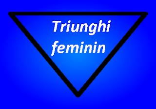 Simbol triunghi feminin de apa