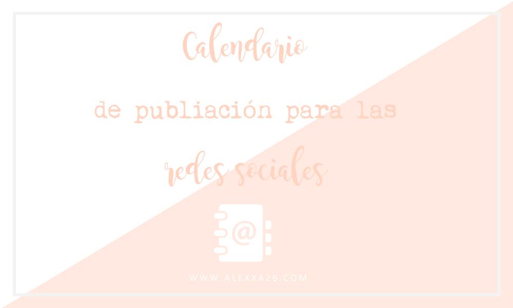 Calendario de publicación para las redes sociales gratuito