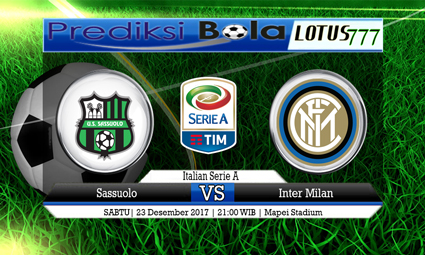 PREDIKSI SKOR Sassuolo vs Inter Milan 23 Desember 2017