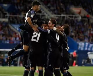Madrid back on top