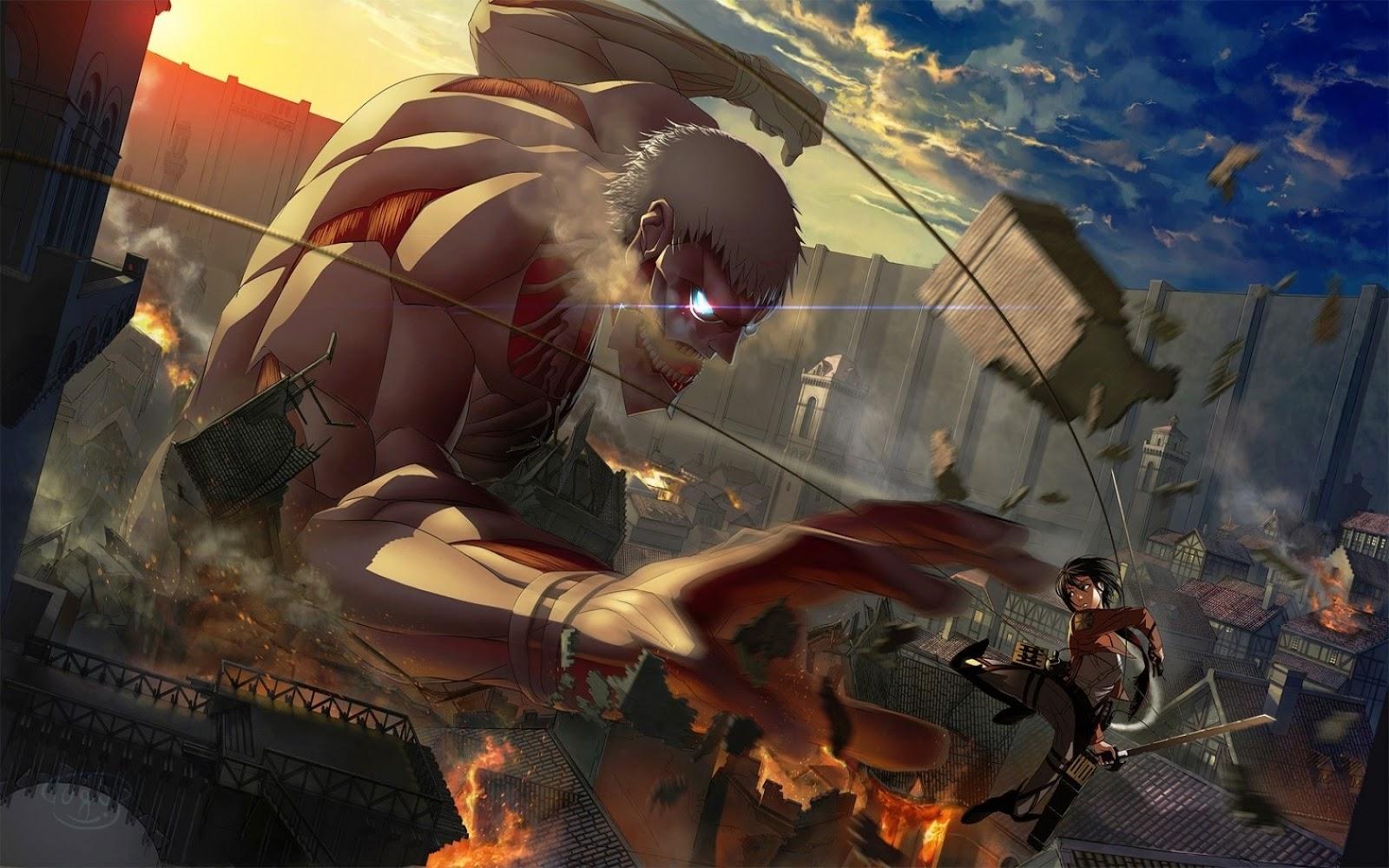 5 Transformasi Titan Paling Keren Dalam Attack On Titan Kincir Com