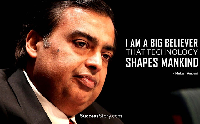 Mukesh Ambani Motivational Quote