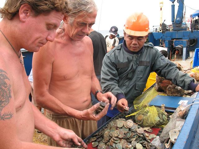 Sebanyak 271.834 Iem Harta Karun Ditemukan Di Perairan Laut Cirebon, Jawa Barat
