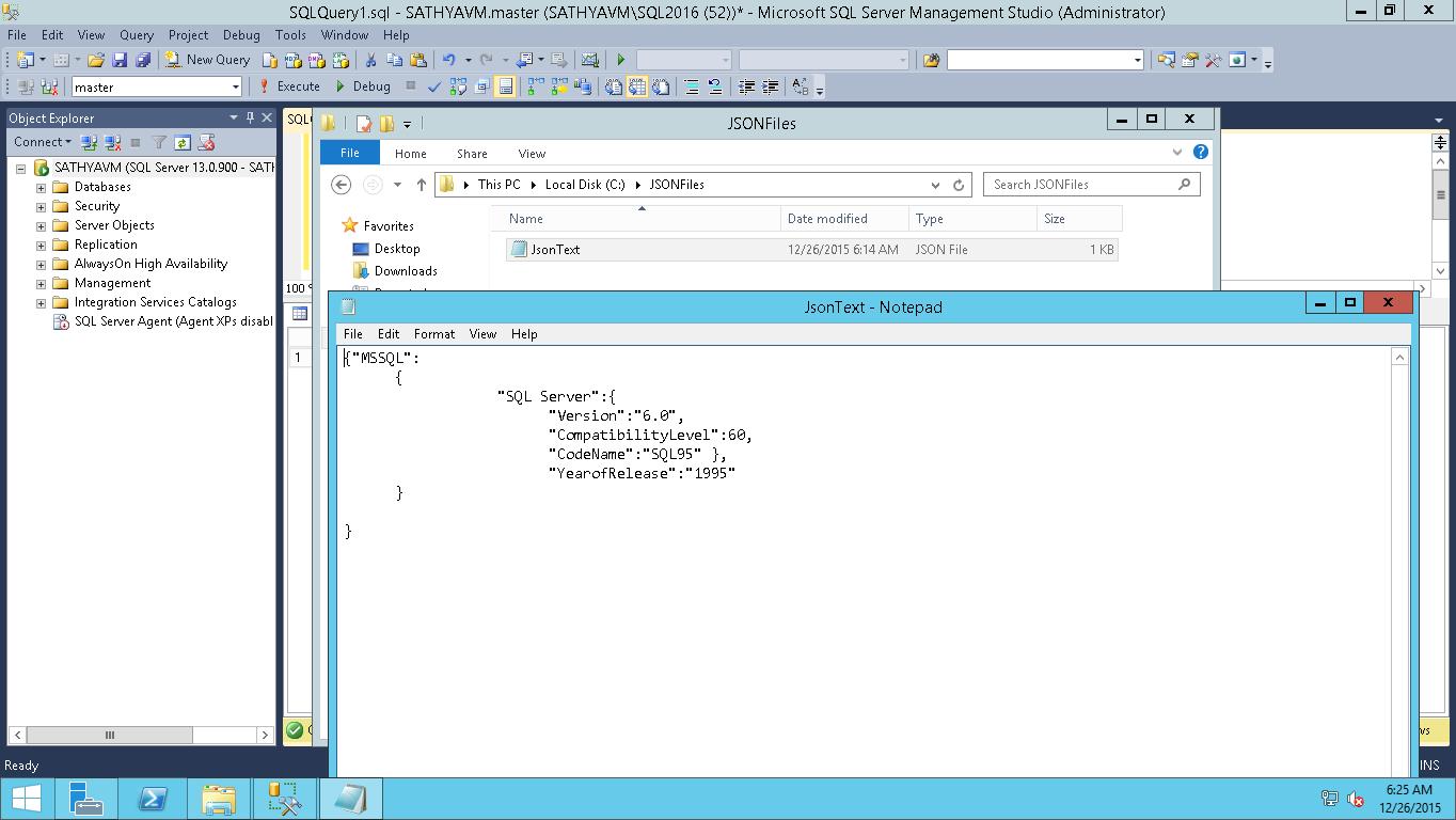 All about SQLServer: SQL Server Import (Bulk load) JSON file