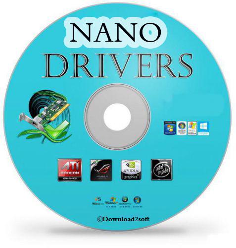 تحميل أفضل اسطوانة تعاريف الكمبيوتر NANO DRIVER بحجم 685MG فقط
