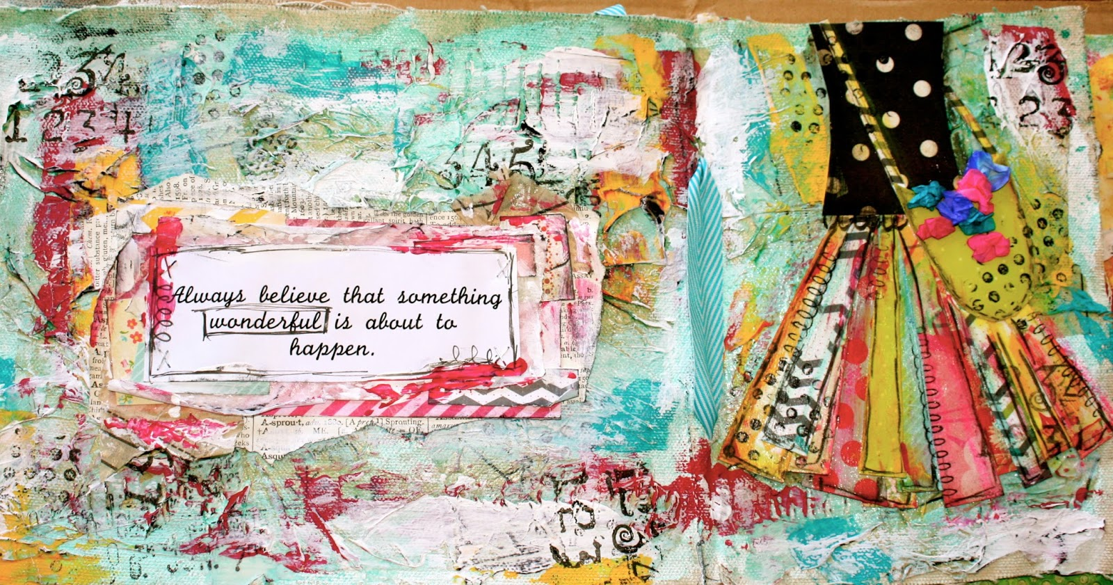 Live, Love, Laugh And Create!: Always Believe