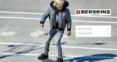 oferta de ropa para nino y nina de la marca Redskins Junior