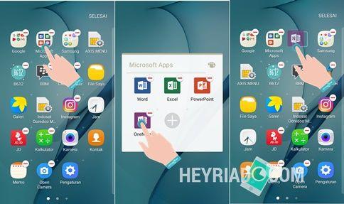Cara Mengeluarkan Aplikasi Dari Folder Aplikasi Android