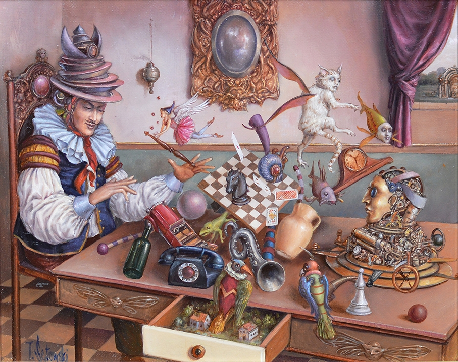 10-Levitation-Exercises-Tomek-Sętowski-Oil-Paintings-Magical-Realism-meets-Surrealism-www-designstack-co