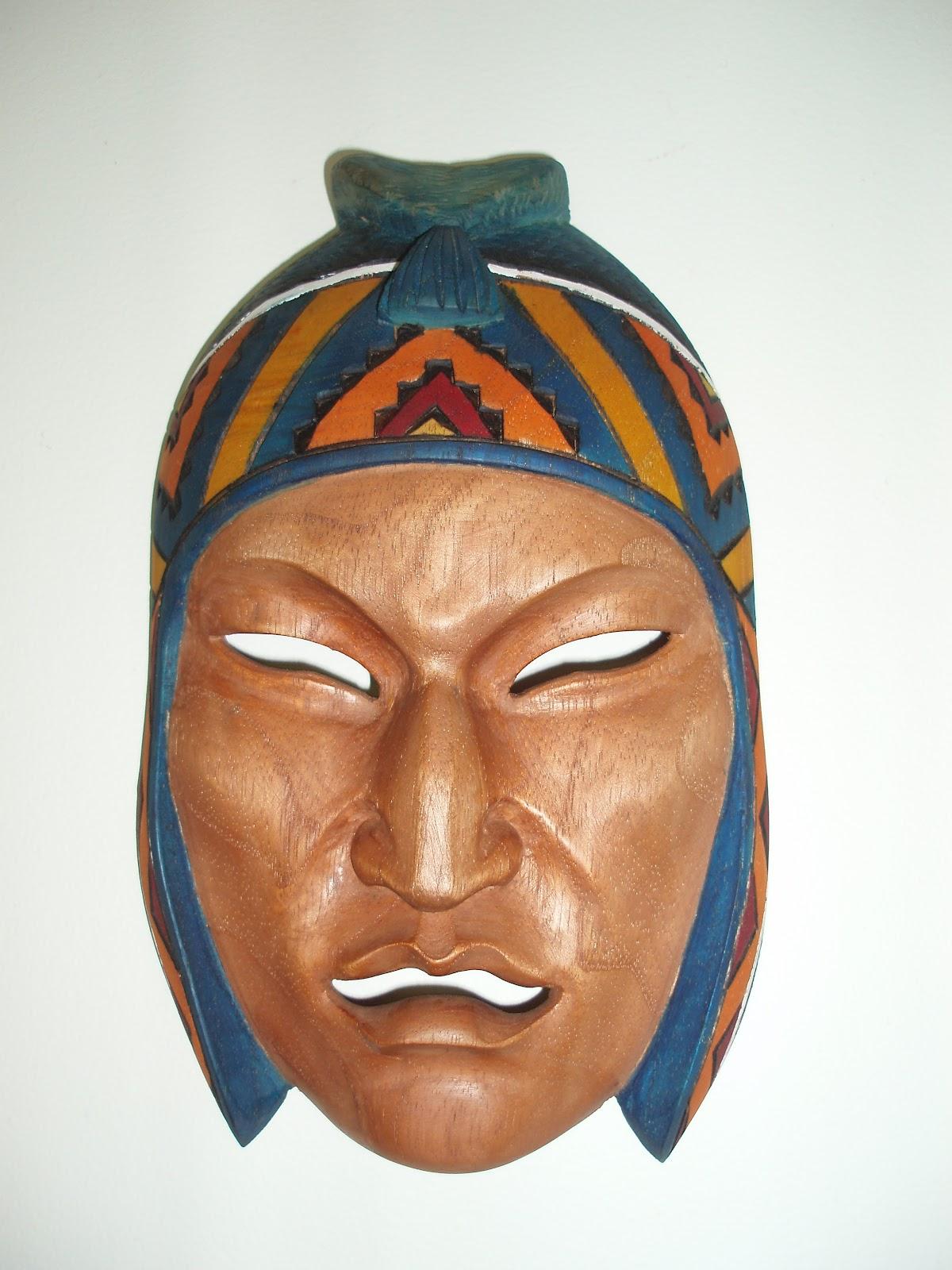 Masks of the World - Mascaras del Mundo: August 2011
