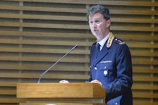 Il Dirigente Generale della P.S. dr Michele Roccheggiani neo Direttore dell'Ispettorato di Polizia Palazzo Chigi