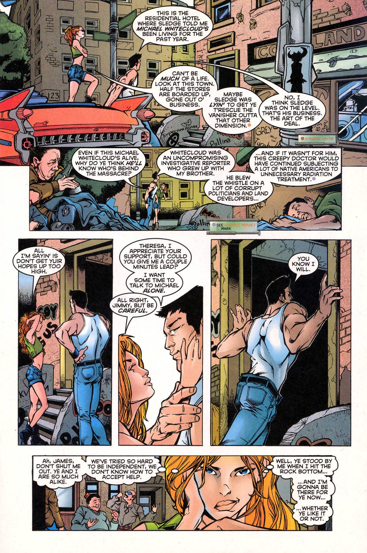 Read online X-Force (1991) comic -  Issue #72 - 13