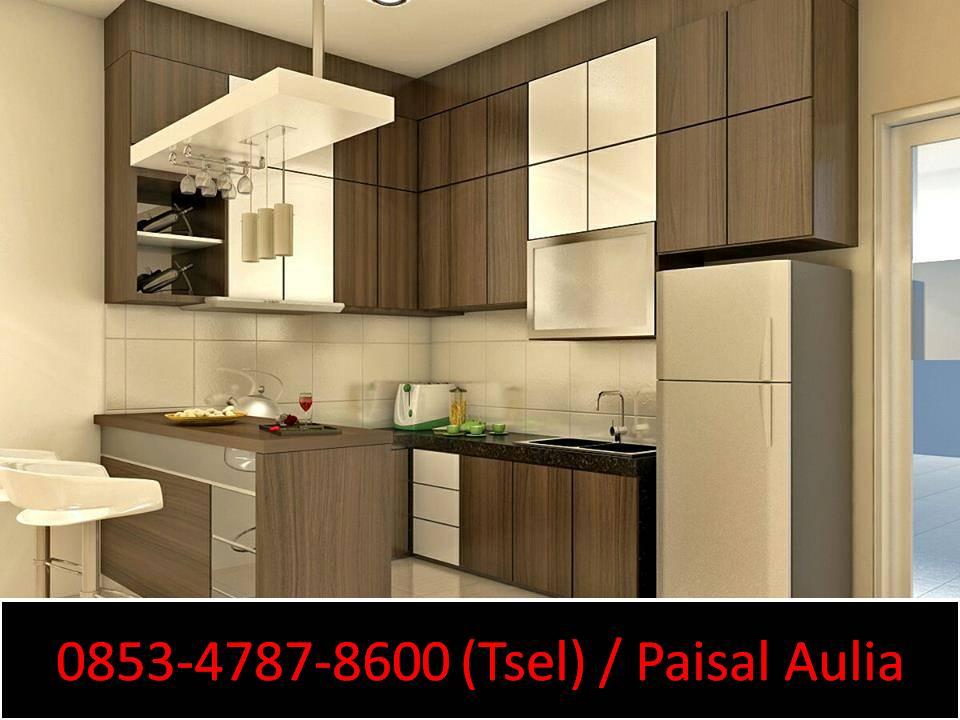 Kitchen Set Kayu Minimalis Murah Di Banjarmasin Desain Interior