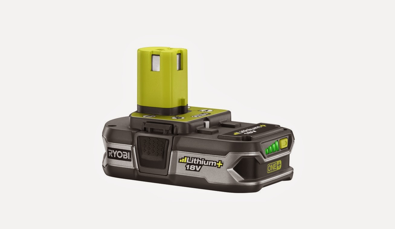 2 - Ryobi P107 18V One+ Compact Lithium-ion Batteries