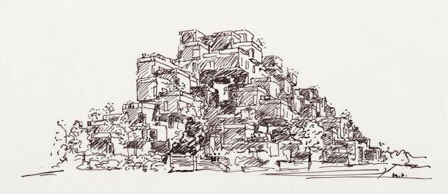 arquitetura, moderno,  futurístico, canada, habitat 67