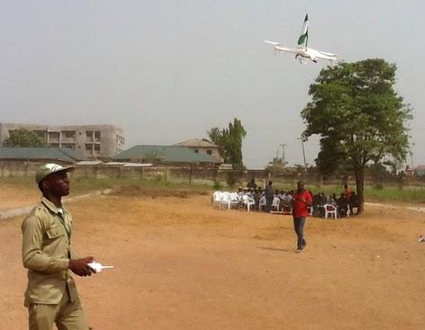 nigerian built drones