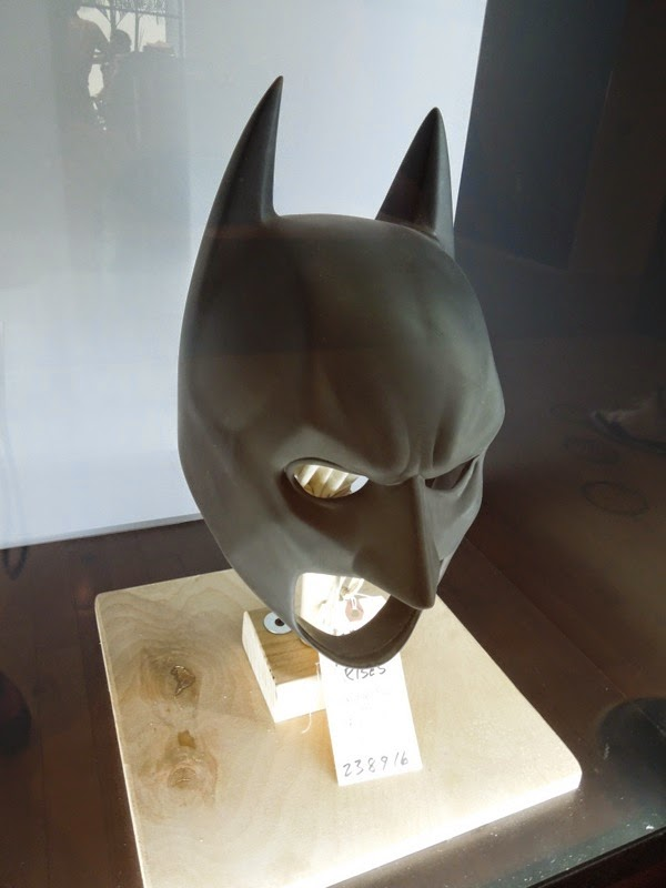 Christian Bale Dark Knight Rises Batman cowl
